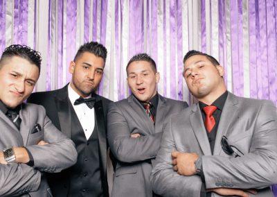 groom and groomsmen at wedding